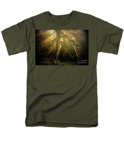 God's Light 2 Men's T-Shirt  (Regular Fit) by Geraldine DeBoer