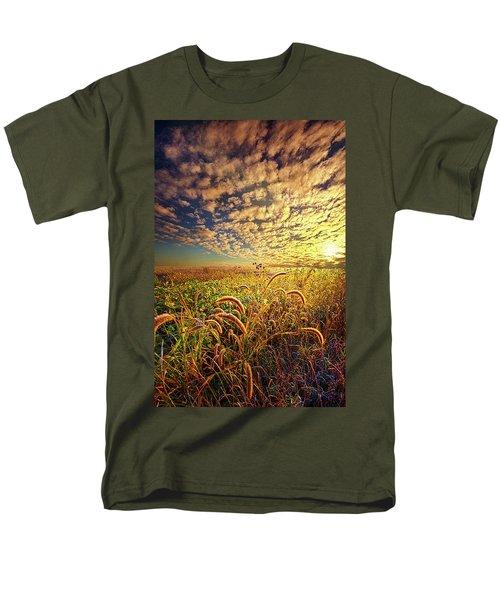 Going To Sleep Men's T-Shirt  (Regular Fit) by Phil Koch