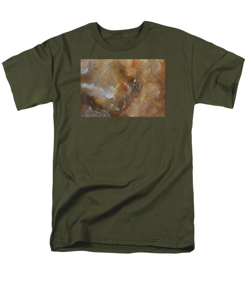 Men's T-Shirt  (Regular Fit) featuring the painting Gold Bliss by Tamara Bettencourt