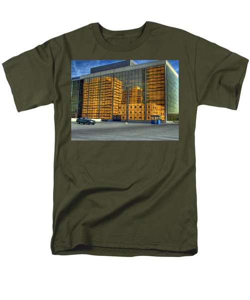 Men's T-Shirt  (Regular Fit) featuring the photograph Gold In The Bank by Farol Tomson