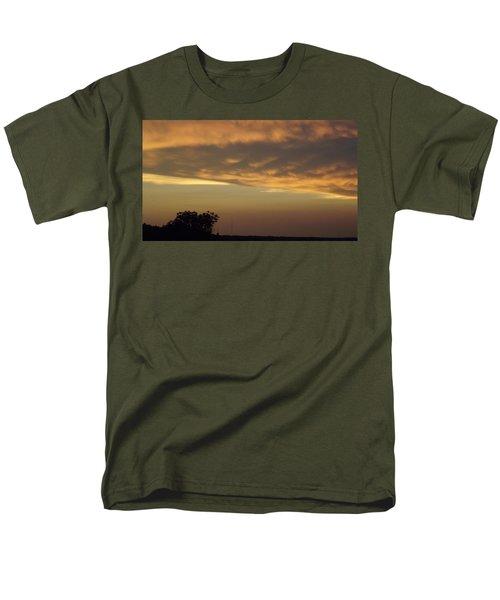 Gold Sky Over Lake Of The Ozarks Men's T-Shirt  (Regular Fit) by Don Koester