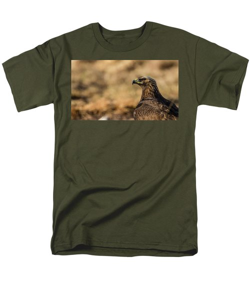 Men's T-Shirt  (Regular Fit) featuring the photograph Golden Eagle by Torbjorn Swenelius