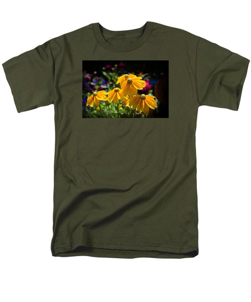 Golden Glow Men's T-Shirt  (Regular Fit) by Milena Ilieva