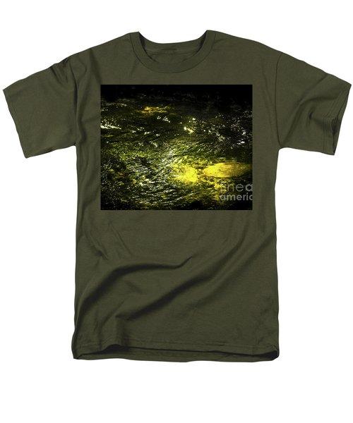 Golden Glow Men's T-Shirt  (Regular Fit) by Tatsuya Atarashi