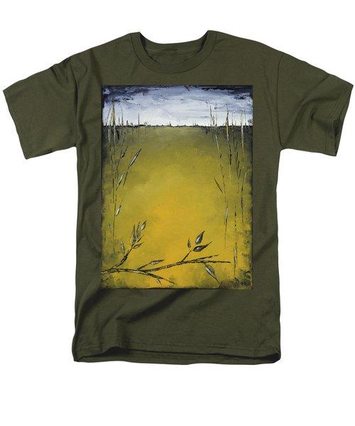 Golden Greens Men's T-Shirt  (Regular Fit) by Carolyn Doe