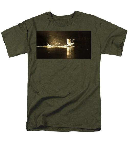 golden Light Men's T-Shirt  (Regular Fit) by Rose-Marie Karlsen