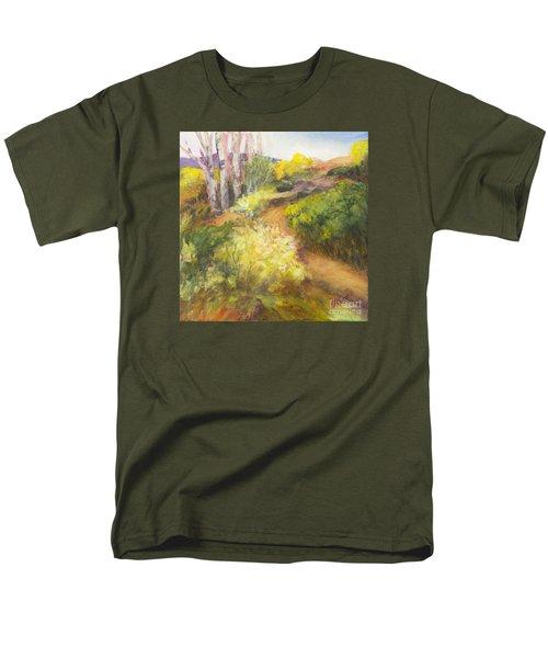 Golden Pathway Men's T-Shirt  (Regular Fit) by Glory Wood