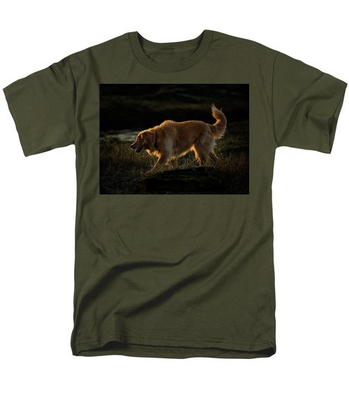 Men's T-Shirt  (Regular Fit) featuring the photograph Golden by Randy Hall