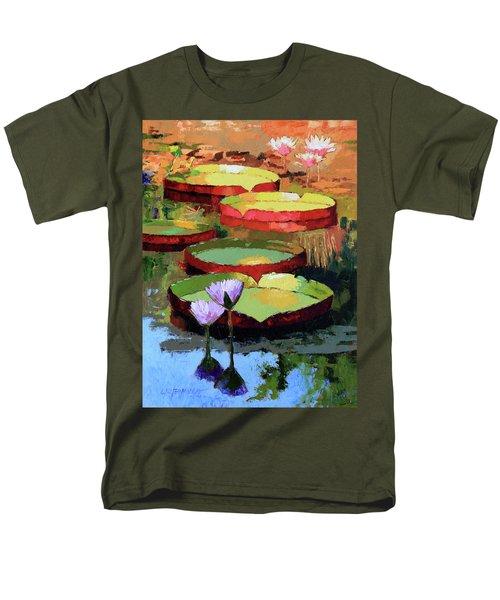 Golden Sunlight Reflections Men's T-Shirt  (Regular Fit) by John Lautermilch