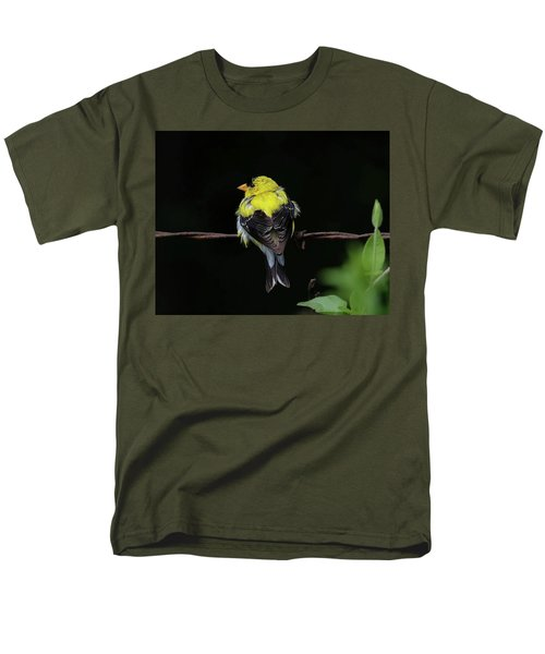 Goldfinch Men's T-Shirt  (Regular Fit) by Ronda Ryan