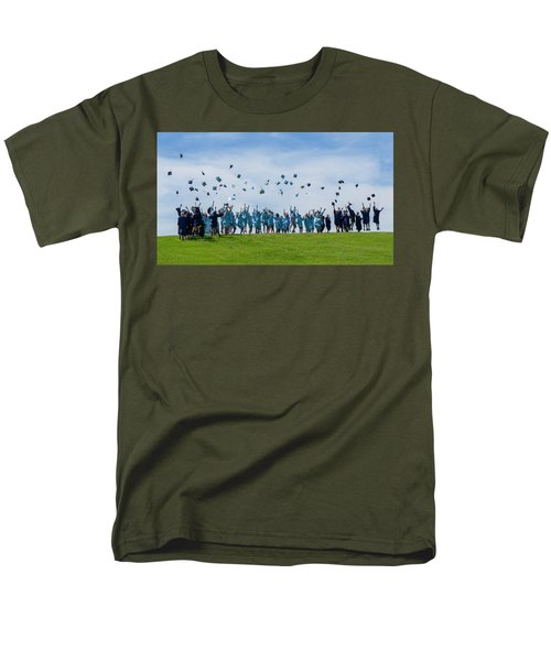 Graduation Day Men's T-Shirt  (Regular Fit) by Alan Toepfer