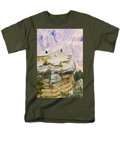 Men's T-Shirt  (Regular Fit) featuring the photograph Grand Canyon Photo Op by Chris Dutton