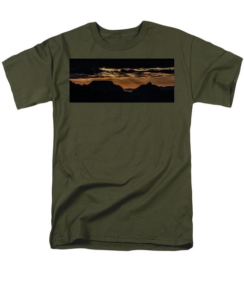 Grand Canyon Sunset Men's T-Shirt  (Regular Fit) by Phil Abrams