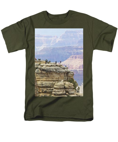 Men's T-Shirt  (Regular Fit) featuring the photograph Grand Canyon Vista by Chris Dutton