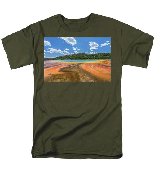 Grand Prismatic Men's T-Shirt  (Regular Fit) by Alpha Wanderlust