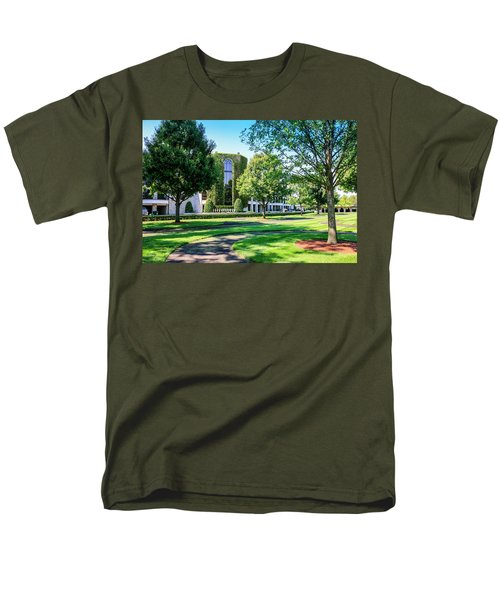Grandstand At Keeneland Ky Men's T-Shirt  (Regular Fit) by Chris Smith