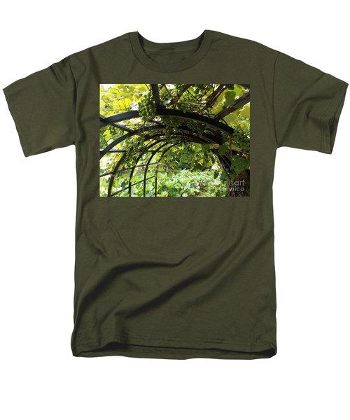 Grape Tunnel Men's T-Shirt  (Regular Fit) by Erick Schmidt