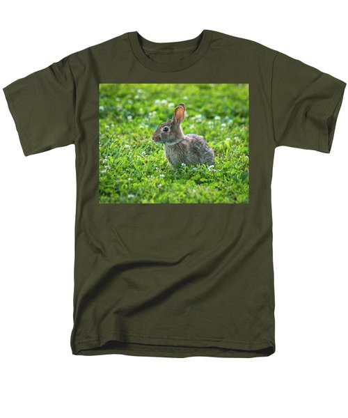 Men's T-Shirt  (Regular Fit) featuring the photograph Grass Hoppers by Bill Pevlor