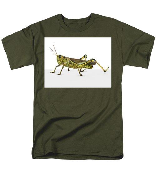 Grasshopper Men's T-Shirt  (Regular Fit) by James Larkin