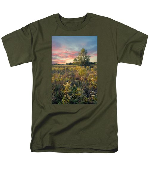 Grateful For The Day Men's T-Shirt  (Regular Fit) by John Rivera