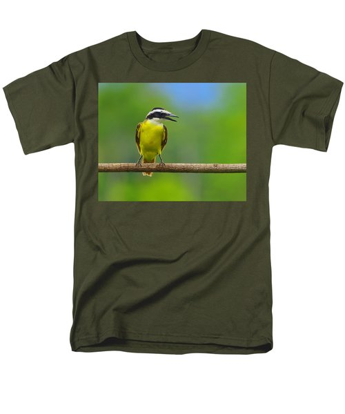 Great Kiskadee Men's T-Shirt  (Regular Fit) by Tony Beck