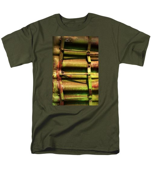Green Ladder Men's T-Shirt  (Regular Fit) by Newel Hunter