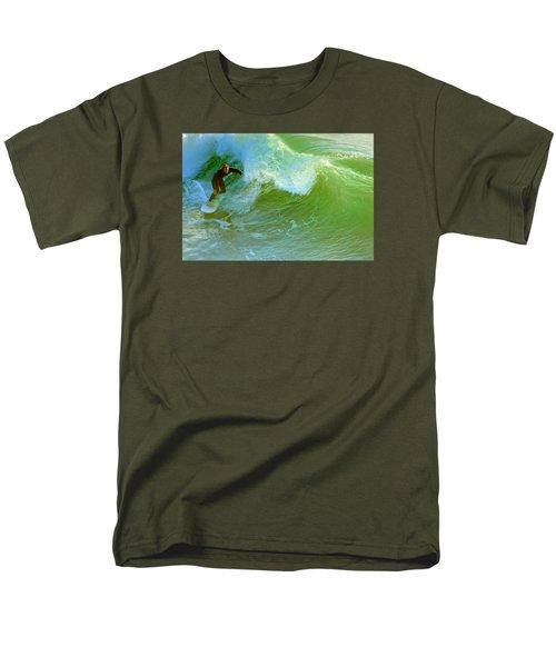 Men's T-Shirt  (Regular Fit) featuring the photograph Green Machine by Everette McMahan jr