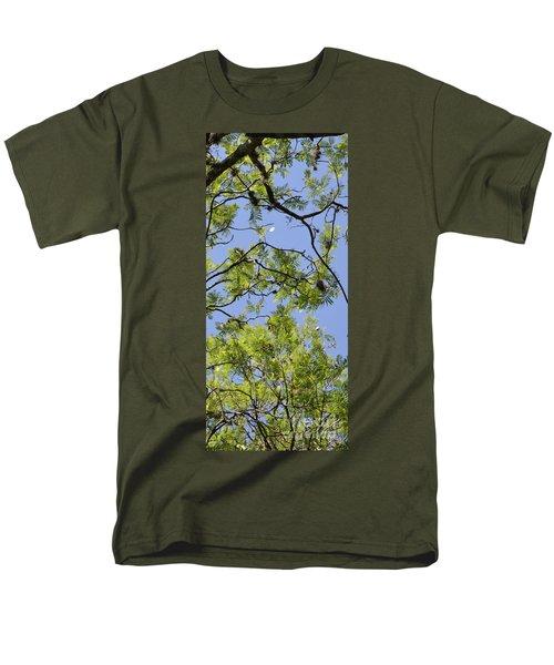 Greenery Right Panel Men's T-Shirt  (Regular Fit) by Renie Rutten