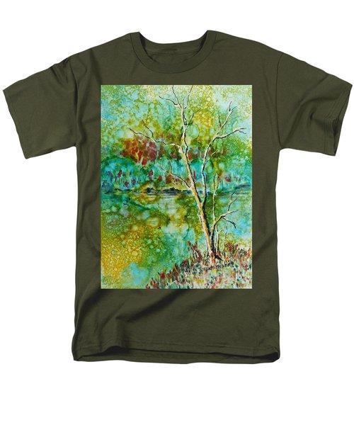 Greens Of Late Summer Men's T-Shirt  (Regular Fit)
