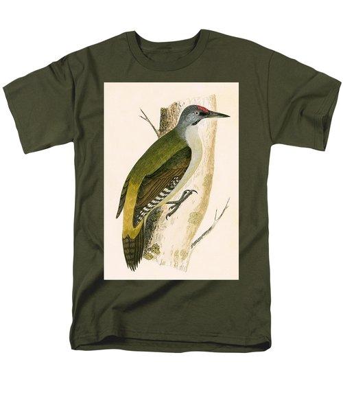 Grey Woodpecker Men's T-Shirt  (Regular Fit)