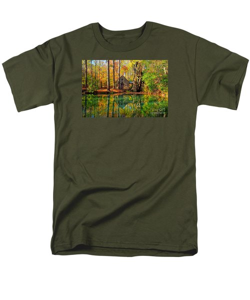 Grist Mill Men's T-Shirt  (Regular Fit) by Geraldine DeBoer