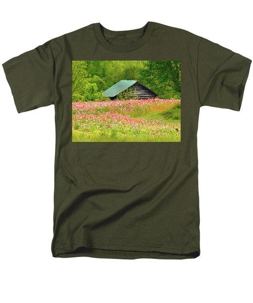 Ground Hog Daze Men's T-Shirt  (Regular Fit) by Laura Ragland
