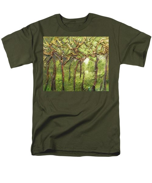 Grove Of Trees Men's T-Shirt  (Regular Fit) by Angela Stout
