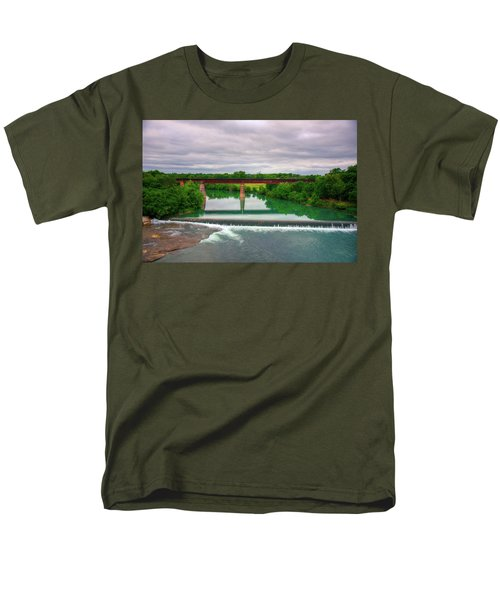Guadeloupe River Men's T-Shirt  (Regular Fit) by Kelly Wade