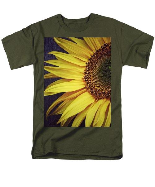 Men's T-Shirt  (Regular Fit) featuring the photograph Half Yellow by Karen Stahlros