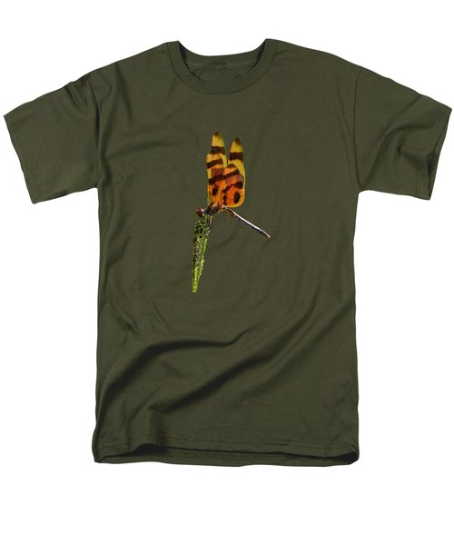Halloween Pennant Dragonfly .png Men's T-Shirt  (Regular Fit) by Al Powell Photography USA