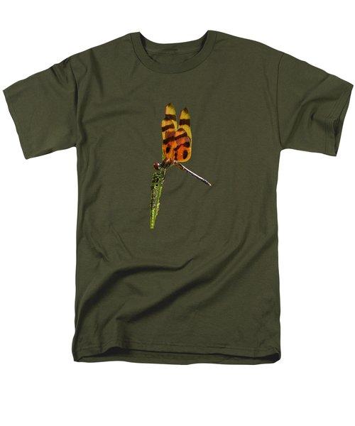 Halloween Pennant Dragonfly .png Men's T-Shirt  (Regular Fit)