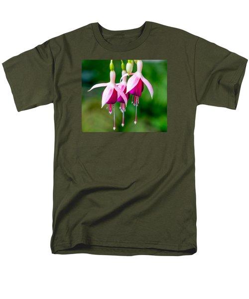 Hanging Flowers  Men's T-Shirt  (Regular Fit) by Derek Dean