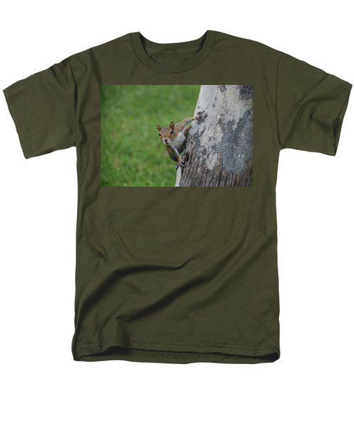 Hanging On Men's T-Shirt  (Regular Fit) by Rob Hans