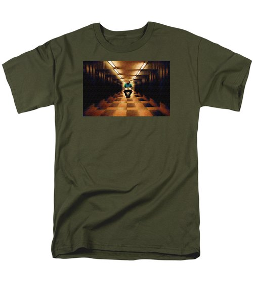 Men's T-Shirt  (Regular Fit) featuring the photograph Hanging In The Balance by Mario Carini