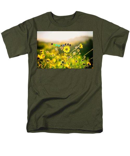 Happiness Men's T-Shirt  (Regular Fit) by Joseph S Giacalone