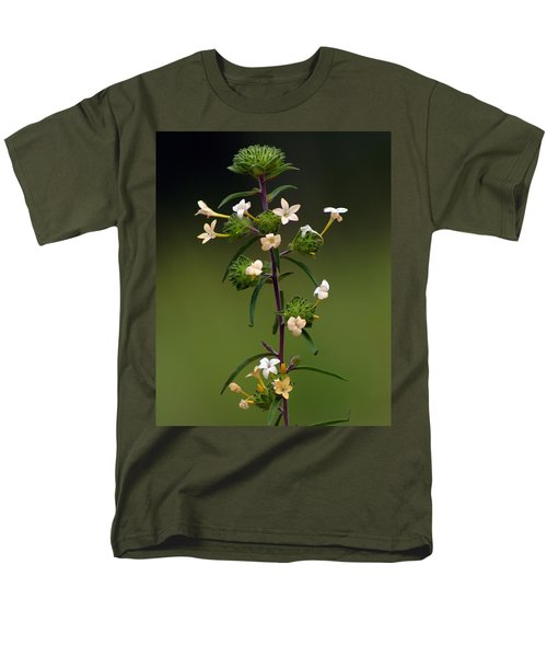 Men's T-Shirt  (Regular Fit) featuring the photograph Happy Flowers by Ben Upham III