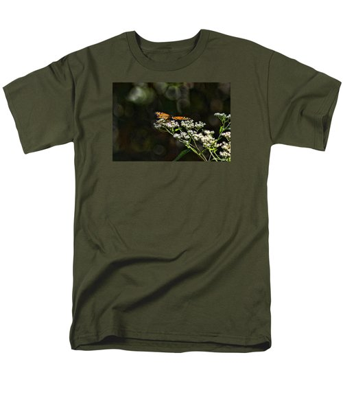 Men's T-Shirt  (Regular Fit) featuring the photograph Happy Monarch by Rick Friedle