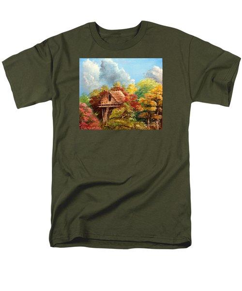 Men's T-Shirt  (Regular Fit) featuring the painting Hariet by Jason Sentuf