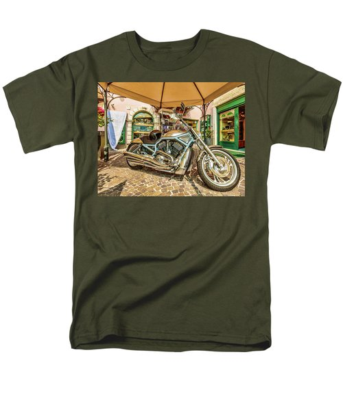 Men's T-Shirt  (Regular Fit) featuring the photograph Harley by Roy McPeak