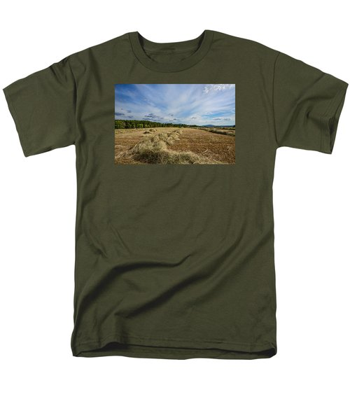 Men's T-Shirt  (Regular Fit) featuring the photograph Harvest by Susi Stroud