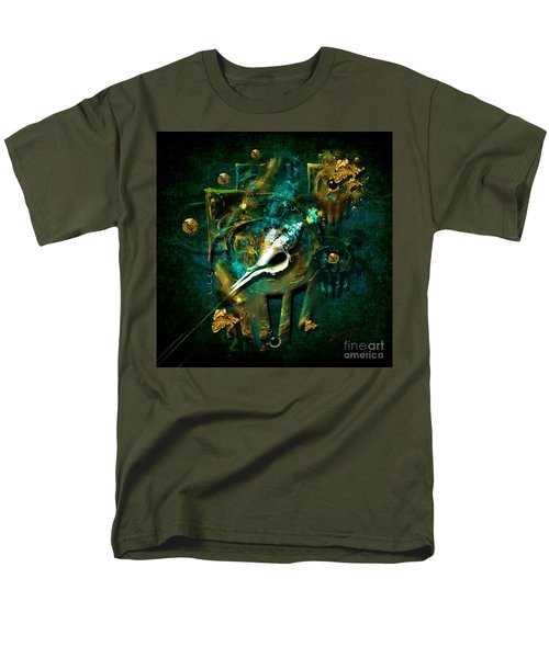 Men's T-Shirt  (Regular Fit) featuring the painting Hatpin by Alexa Szlavics