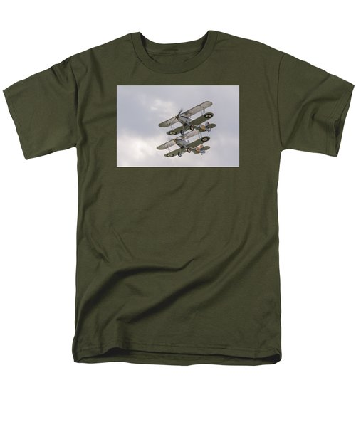 Hawker Nimrods Men's T-Shirt  (Regular Fit) by Gary Eason