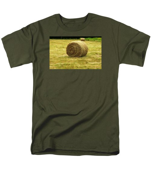Hay Bale  Men's T-Shirt  (Regular Fit) by Bruce Carpenter