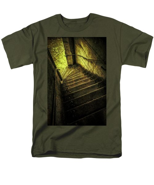 Men's T-Shirt  (Regular Fit) featuring the photograph Head Full Of Drought by Russell Styles